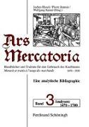 Ars Mercatoria. Bd. 3: 1470 - 1700. Analysen