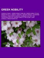 Greek nobility