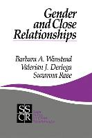 Gender and Close Relationships
