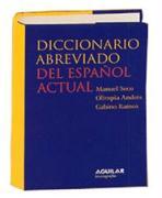 Diccionario abreviado del español actual